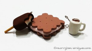 polymer clay popsicle cracker sandwich mocha mug